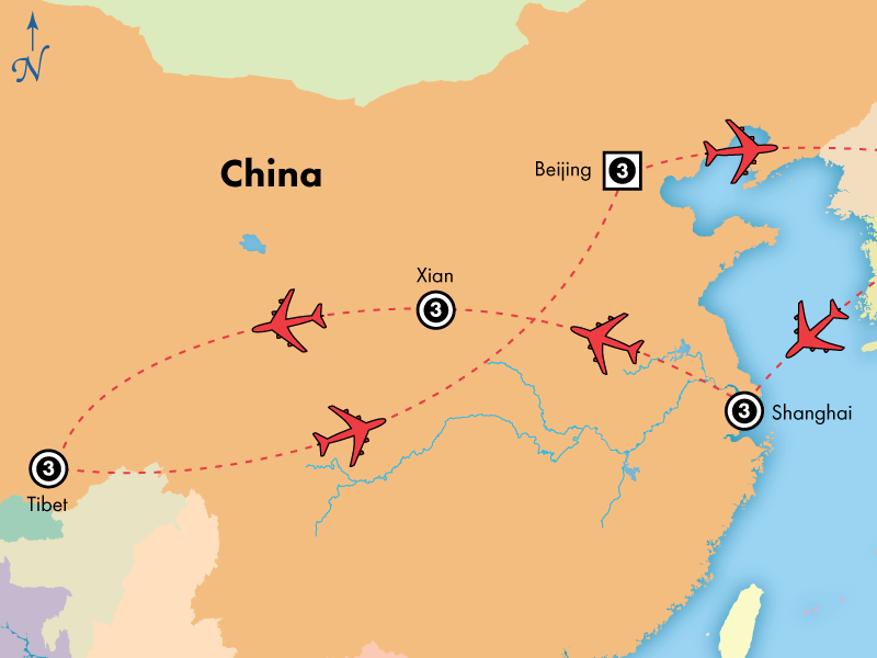 14 Day China and Tibet Discovery