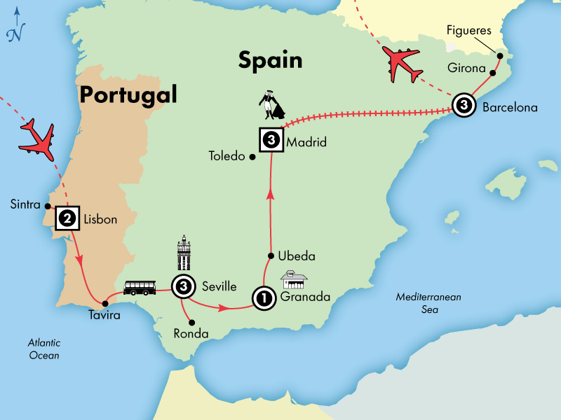14 Day Spanish and Portuguese Heritage