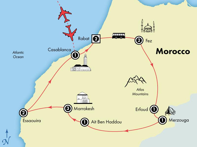 15 Day Moroccan Allure