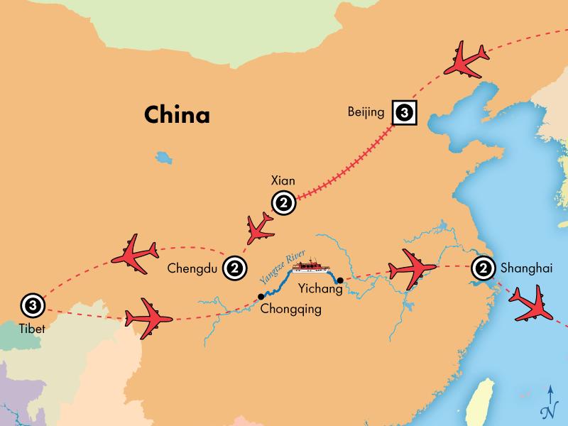 17 Day Amazing China with Tibet