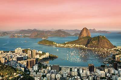 Brazil, Argentina, Chile & Colombia